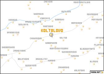 map of Koltalovo