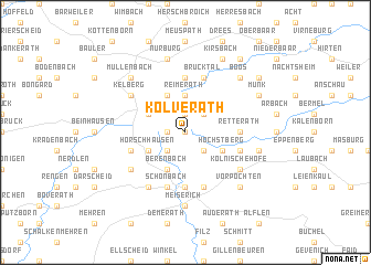 map of Kolverath