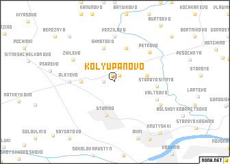 map of Kolyupanovo