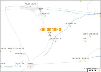 map of Komarovka