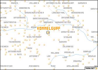 map of Kömmelgupf