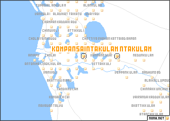 map of Kompansaintakulam