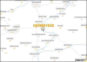 map of Konabeyevo