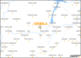 map of Kônbalu