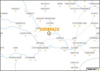 map of Konbawzu