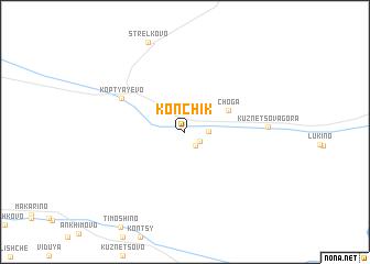 map of Konchik