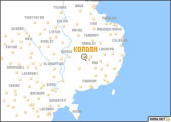 map of Kondom