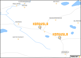 map of Kondusla