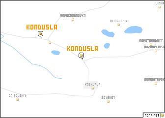 map of Kondusla