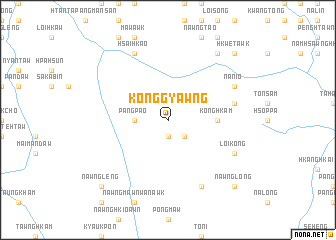 map of Köng-gyawng
