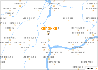 map of Konghka