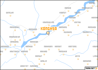 map of Konghsa