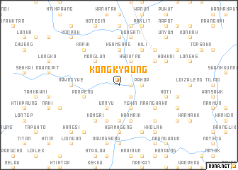 map of Kongkyaung