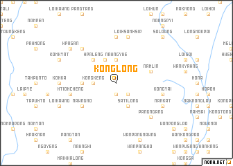 map of Konglong