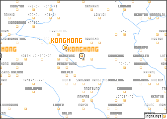 map of Kong-mong