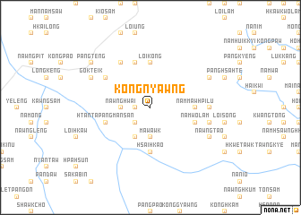 map of Kongnyawng