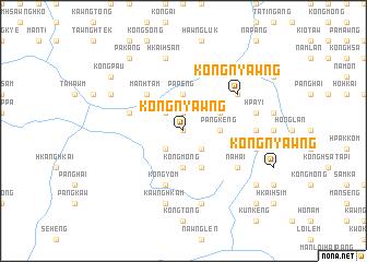 map of Köngnyawng