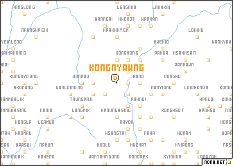 map of Kong Nyawng