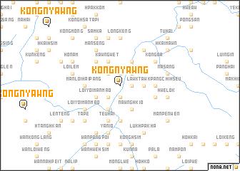 map of Kongnyawng