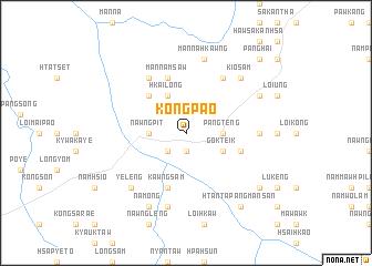 map of Kongpao