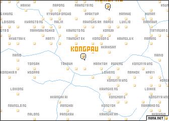 map of Köngpau