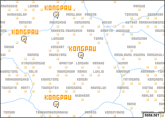 map of Köngpau