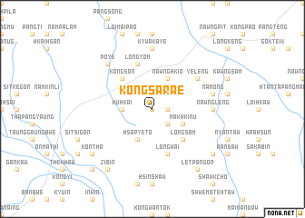 map of Kong-sara-e