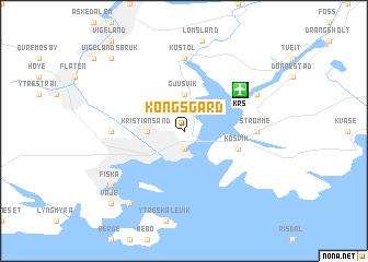 map of Kongsgård