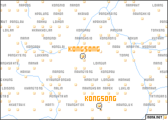 map of Köngsong