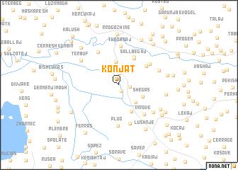 map of Konjat