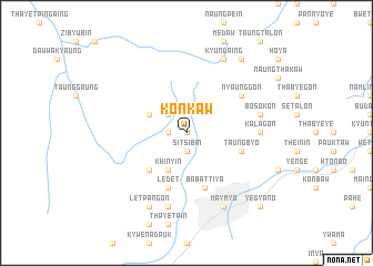 map of Konkaw