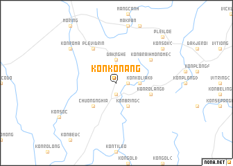 map of Kon Konang