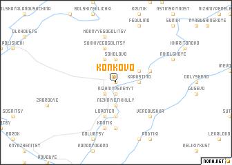 map of Kon\