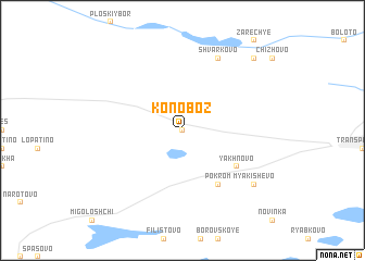 map of Konoboz