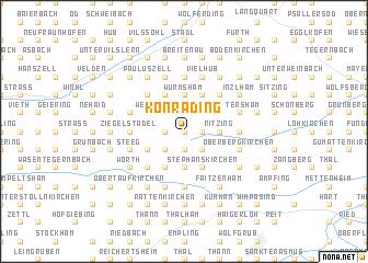 map of Konrading
