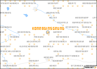 map of Konradinsgrund