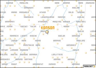map of Konson
