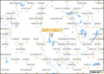 map of Konthagyi