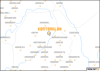 map of Kon Ton Klah