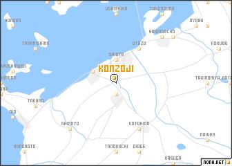 map of Konzōji