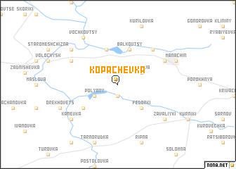map of Kopachëvka