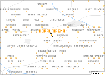map of Kopalnia Ema