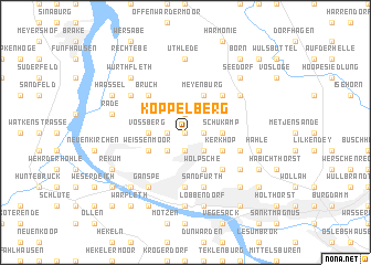 map of Koppelberg