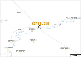 map of Koptelovo