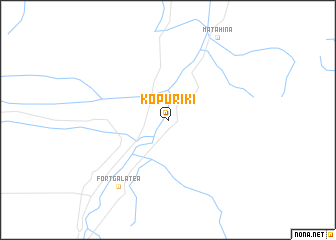 map of Kopuriki