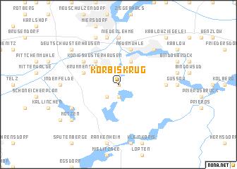 map of Körbiskrug
