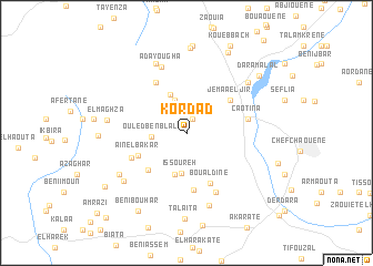 map of Kordad