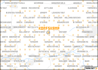 map of Korfskamp
