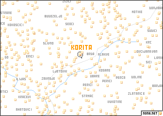 map of Korita