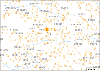map of Korito